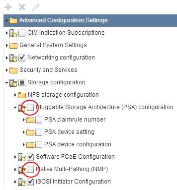 Host Profile Compliance Error