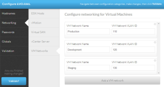 Create your VM networks